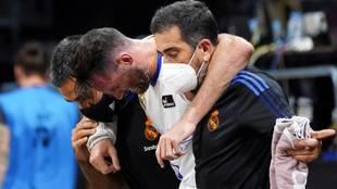 Rudy Fernández sale a hombros en la semifinal de la Supercopa