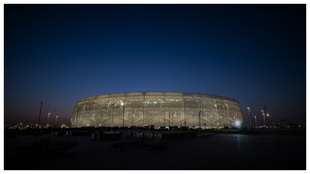 Estadio Al Thumama de Doha.