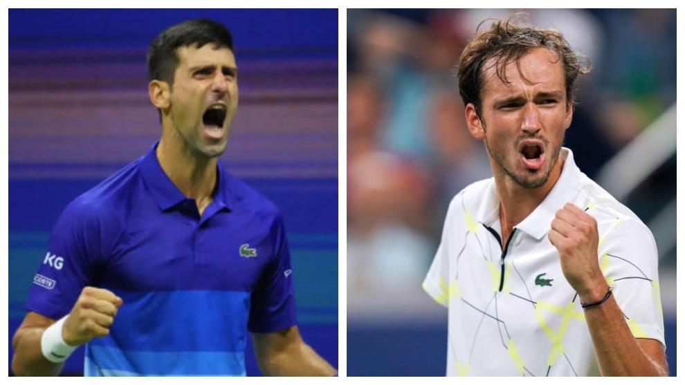 Djokovic, en serios apuros: Medvedev saca para ganar también el segundo set