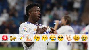 Vinicius was electric against Celta.
