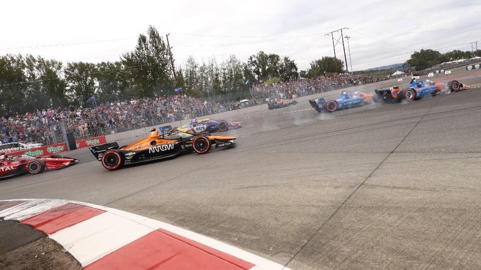 Alex Palou - Portland GP - victoria - Indycar - líder - Ganassi