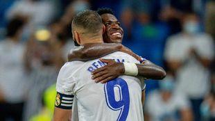Benzema Vinicius Real Madrid