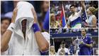 Medvedev hace llorar a Djokovic