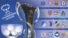 Infografía del sorteo de la fase de grupos de la Champions League...