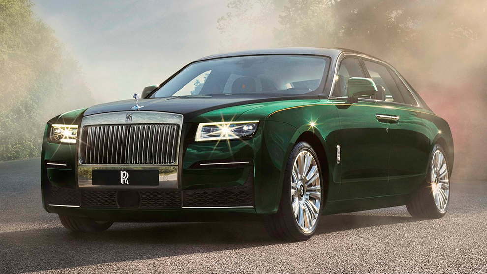 Rolls-Royce Ghost Extended.