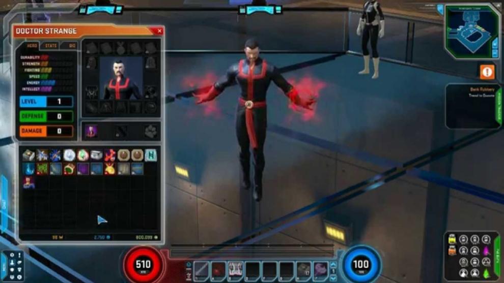 Dr. Strange en el videojuego Marvel Heroes