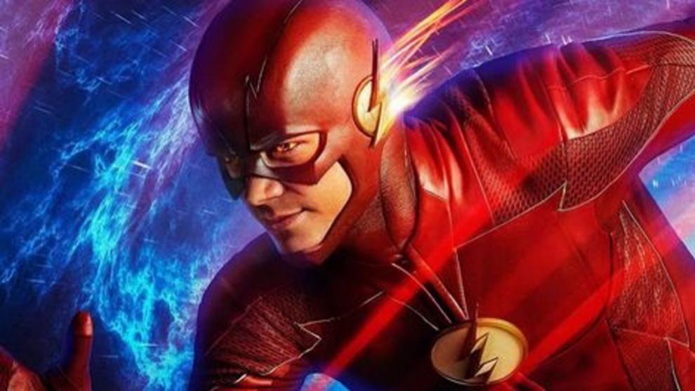 Flash en una imagen promocional de la serie de televisión