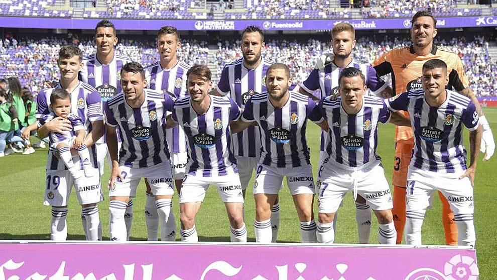 El once titular de Pacheta en el partido de este domingo en Zorrilla