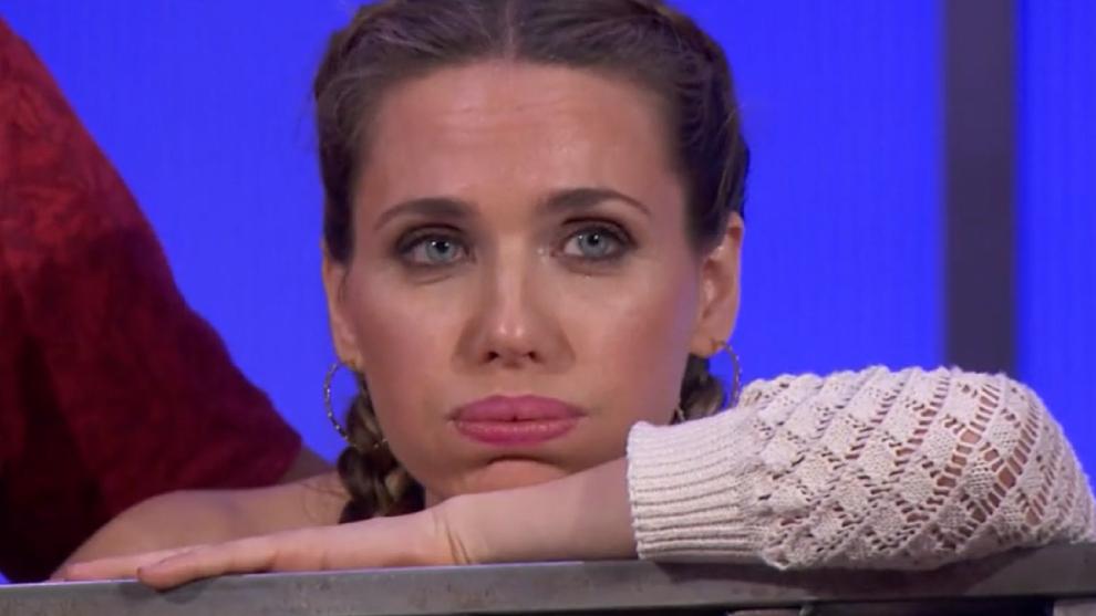 Vanesa Romero, escuchando el drama de Tamara en MasterChef Celebrity 6