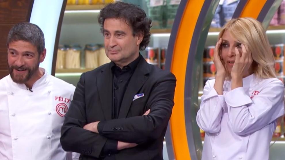Felix Gomez - Pepe Rodriguez  - Cayetana Guillen Cuervo - MasterChef Celebrity 6