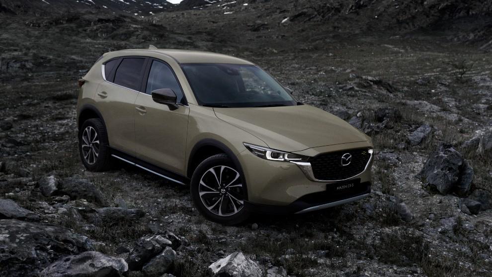 Mazda CX-5 2022 - SUV - CX-5 Newground - gama 2022 - restyling