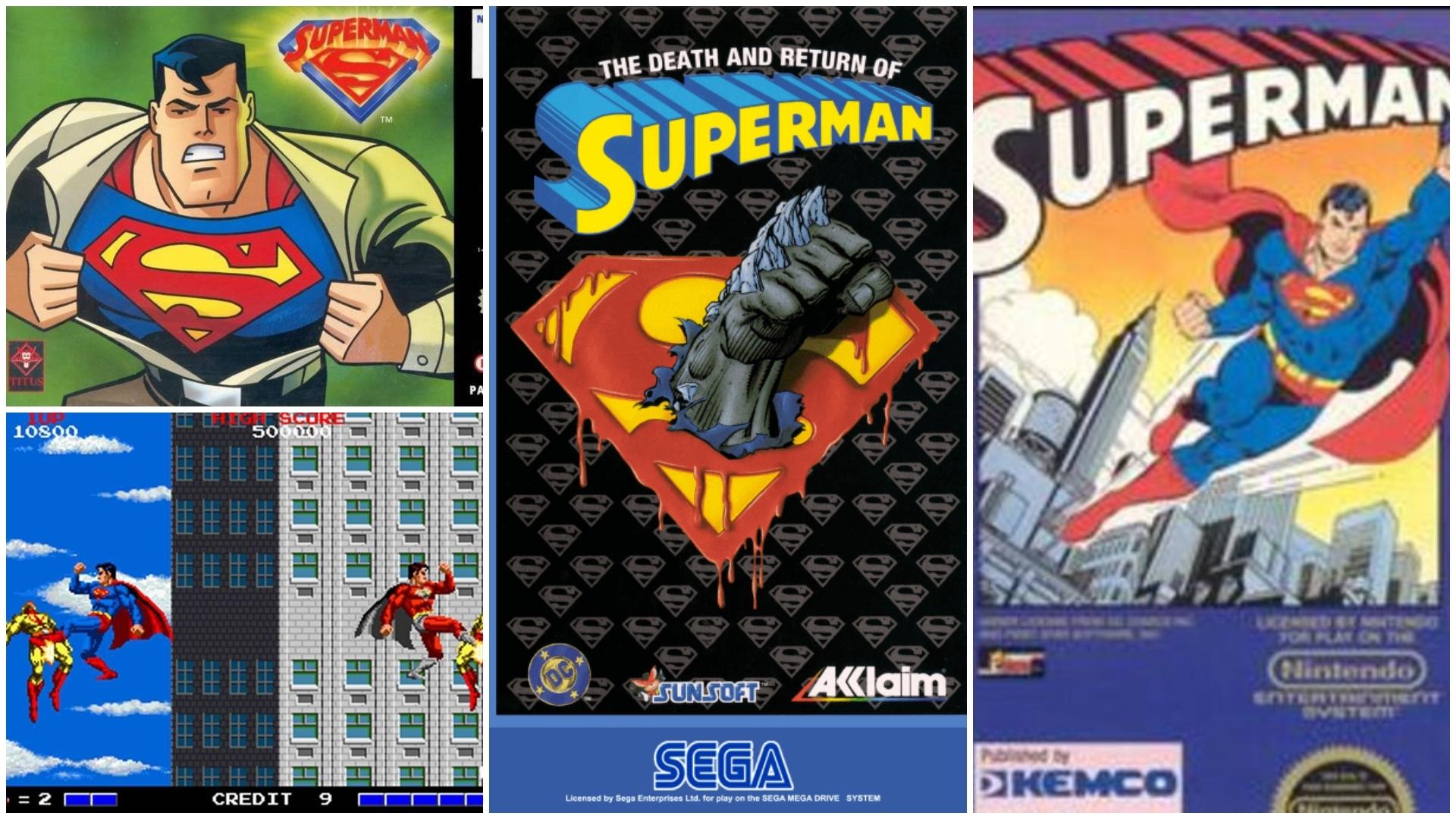 Videojuegos de Superman