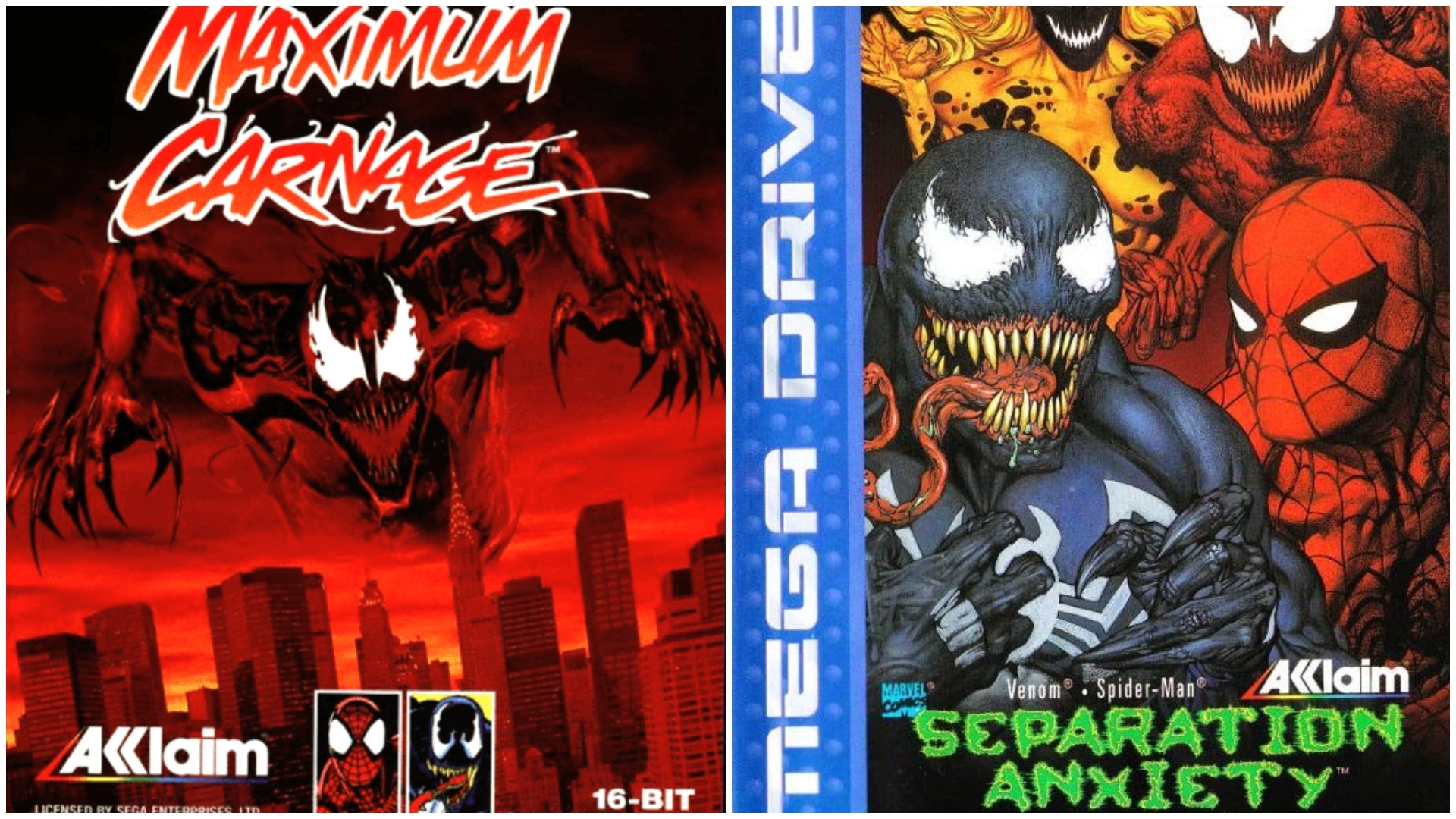 Venom y Spiderman colaboraron juntos en estos dos videojuegos