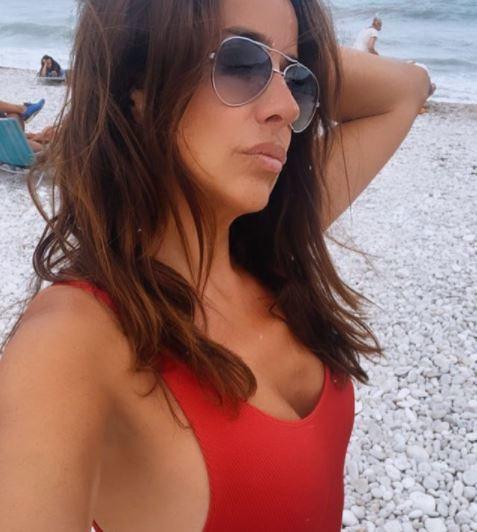 Carmen Alcayde, en una imagen publicada en su cuenta de Instagram