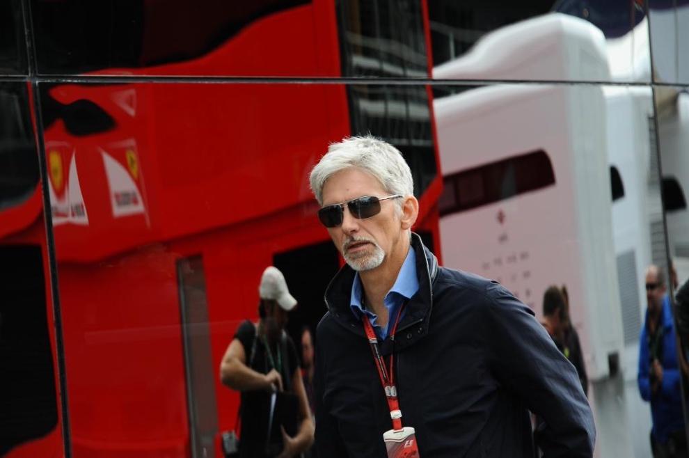 Damon Hill en Austria 2015