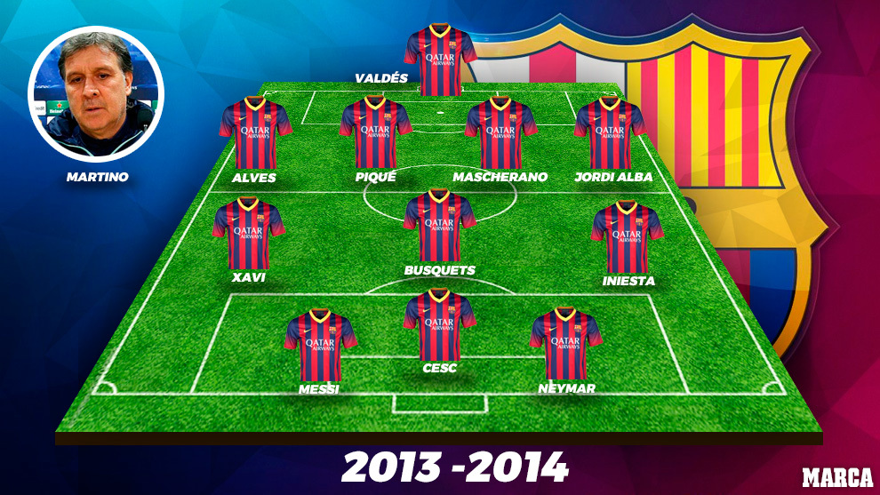 Barcelona 2013/14