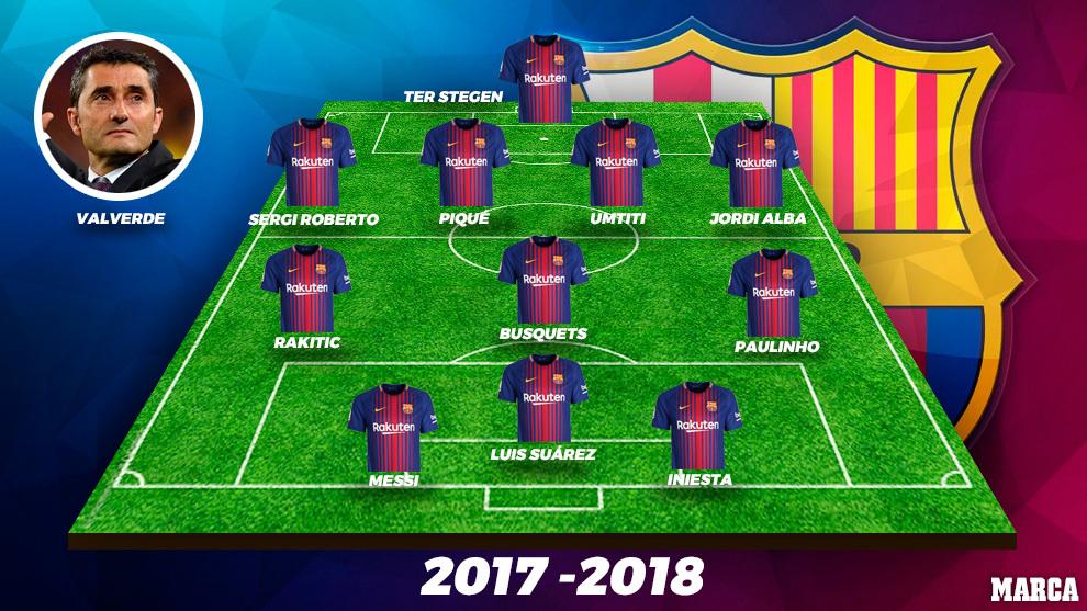 Barcelona 2017/18