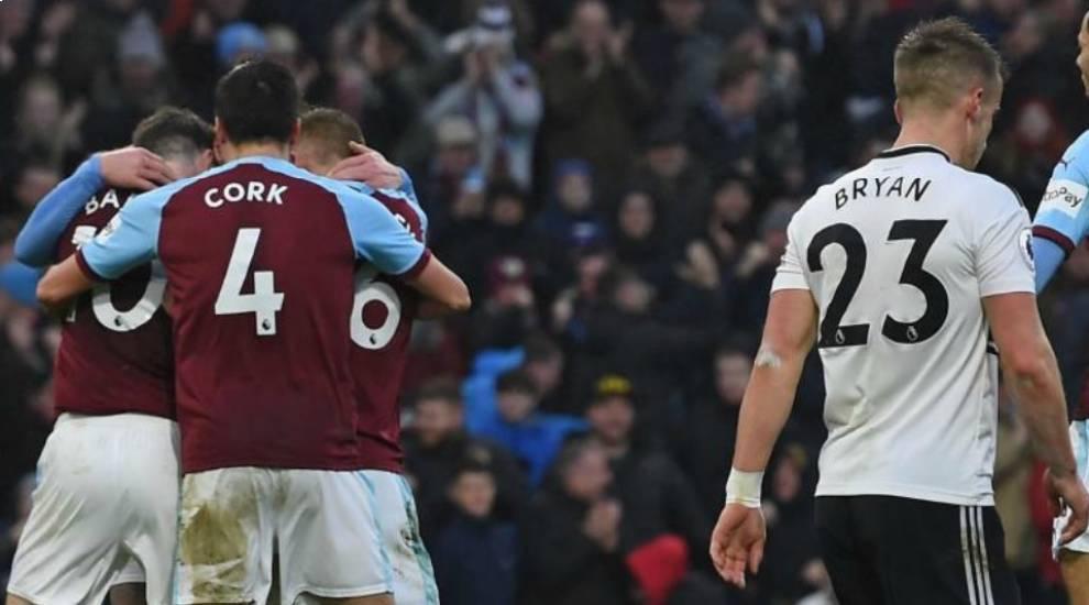 Los jugadores del West Ham celebran un gol ante Bryan