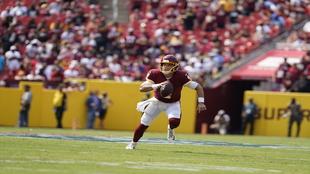 Washington Football Team quarterback Taylor Heinicke.