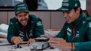 Sebastian Vettel and Lance Stroll.