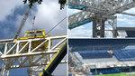 Nuevo empujón al Bernabéu: abren nuevas secciones de grada y desplazan las cerchas 3 y 4
