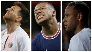 Messi Mbappe Neymar PSG