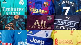 Las terceras camisetas: el km. 0 del Madrid, un Inter fluorescente, homenaje del Ajax a Bob Marley...