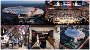 The Clippers begin construction on the Intuit Dome