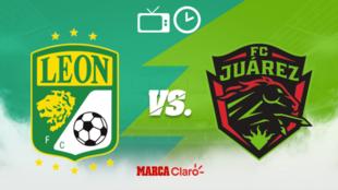 León vs FC Juárez: Horario y dónde ver