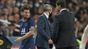 El cambio de la discordia: Pochettino quita a Messi y su cara va a dar mucho que hablar