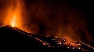 erupción volcan la palma - Cumbre Vieja - DGT - tráfico - carreteras...