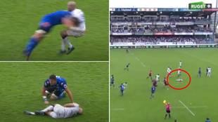 El brutal placaje que sacude al mundo del rugby