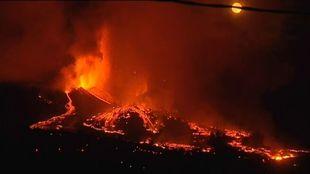Últimas noticias de la erupción del volcán en La Palma