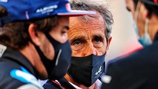 Alain Prost Alpine F1