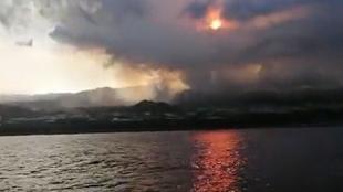 Oceano Atlantico - lava - La Palma - magma - mar - volcan