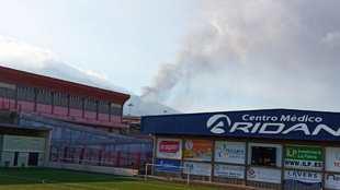 El fútbol visto a dos kilómetros de la lava