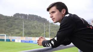 Mikel Zabarreitia, jugador del SD Amorebieta