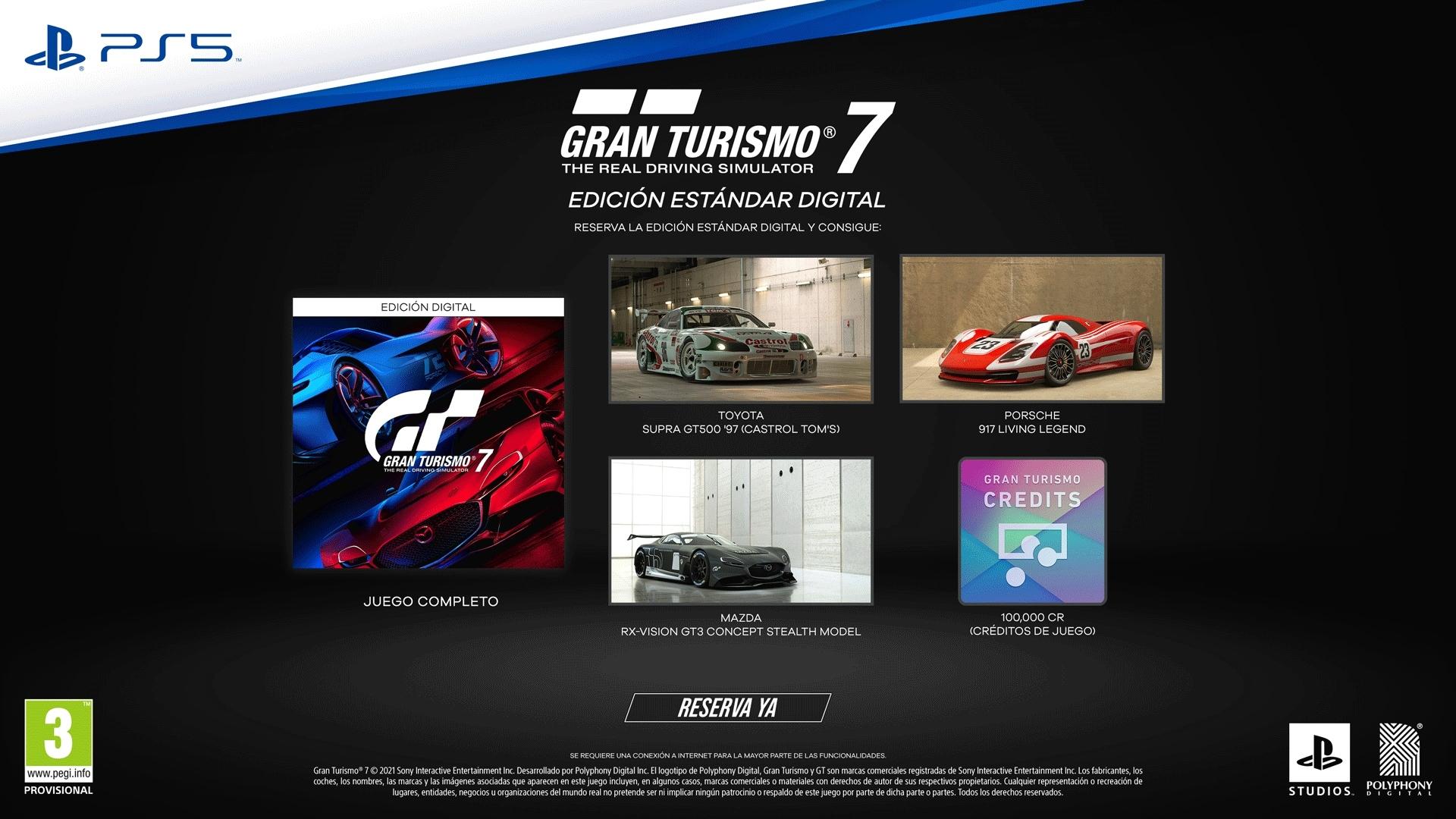 Gran Turismo 7 edición estándar