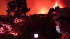 Las imágenes más espectaculares de la erupción del volcán de La...