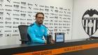 José Bordalás durante su rueda de prensa en la Ciudad Deportiva.