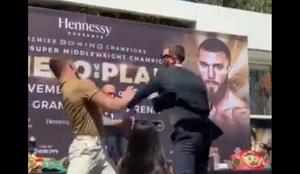 Canelo Álvarez vs Caleb Plant
