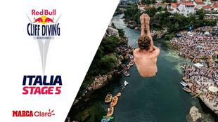 Red Bull Cliff Diving, en vivo desde Italia