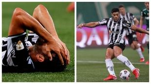 Diego Costa se duele antes de retirarse lesionado y Hulk ejecuta el...