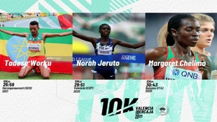 La 10K Valencia Ibercaja buscará el récord mundial femenino