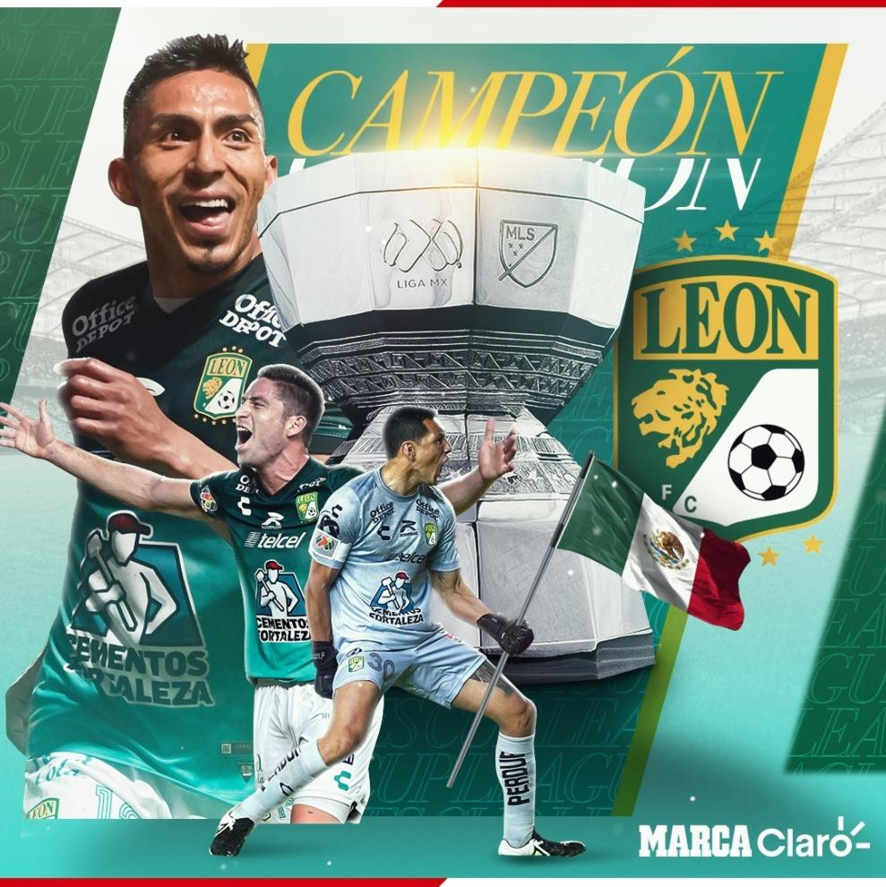 El León es campeón de la Leagues Cup tras derrotar al Seattle Sounders