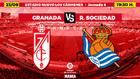 Montaje para la previa del Granada-Real Sociedad.