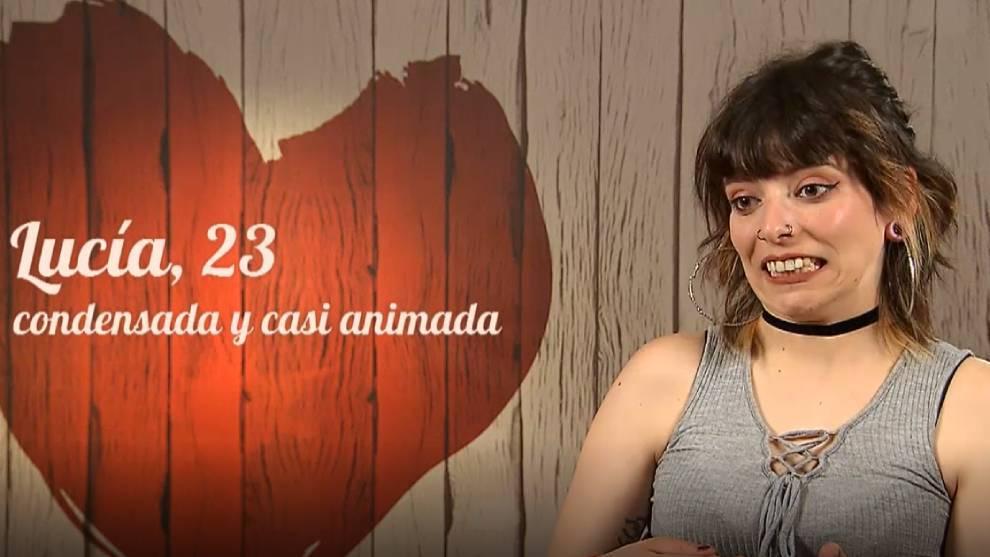 Lucía, en 'First Dates' /