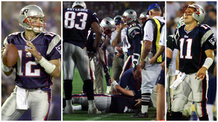 """A 20 años del golpe de Mo Lewis a Drew Bledsoe que inició la historia de Tom Brady: """"Es una celebración del día que casi muero"""""""