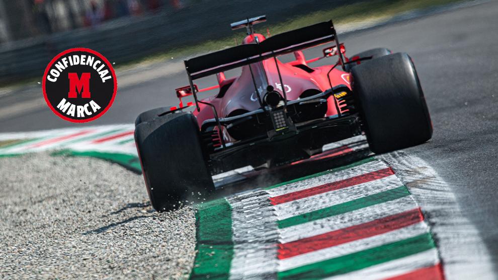 Ferrari reacciona espoleada para 2022
