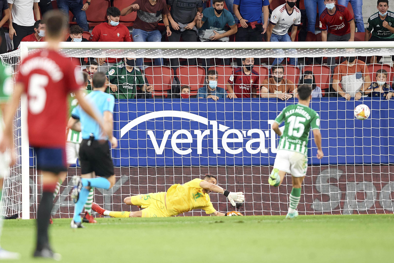 Osasuna - Betis: resumen, resultado y goles   La Liga Santander   Marca